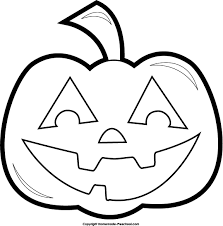 Clipart Black And White view all Halloween Cliparts Pumpkin