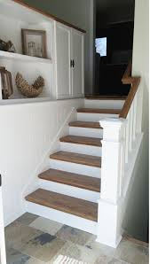 100 Additions To Split Level Homes DIY Split Entry Remodel Added Storage Planking To Tie The
