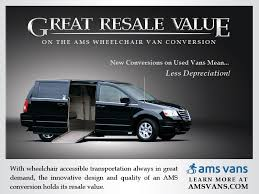 Great Resale Value On The AMS Vans Wheelchair Van Conversion
