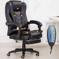 chaise de bureau a bureau à domicile ordinateur de bureau chaise avec repose pieds