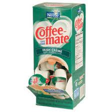 Coffee Mate Non Dairy Irish Cream Flavor Liquid Creamer Cups