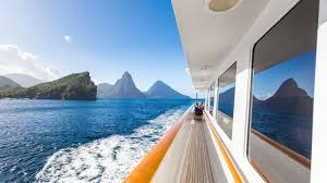 100 J Mountain St Lucia An Island Of Riches On Board Lady In Boat International
