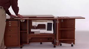 Koala Sewing Machine Cabinets by Koala Studios G2 Lift Youtube