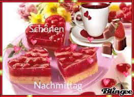 einen schönen nachmittag bei kaffee und kuchen wünsche ich