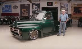 100 1953 Ford Truck F100 Restomod Catches Jay Lenos Attention Medium Duty