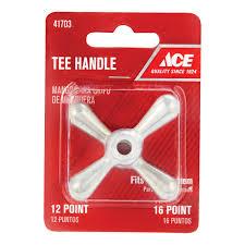 Decorative Hose Bib Handles by Ace Tee Faucet Handle Valve Parts U0026 Handles Ace Hardware