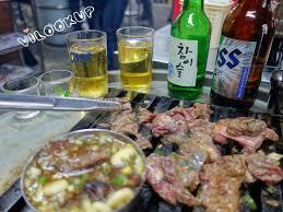 cuisiner pois cass駸 首爾美食 240 新村站신촌역 汽油桶當烤肉架 新村必吃 站著吃烤肉