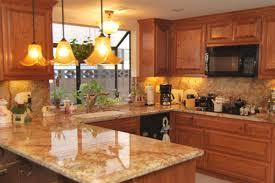 honey oak kitchen cabinets with granite countertops kutsko kitchen