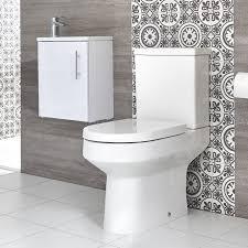 stand wc hänge waschtisch set unterschrank b 400mm farbe wählbar