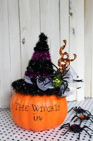 Fake Carvable Plastic Pumpkins by Fake Pumpkin Witch Craft For Halloween
