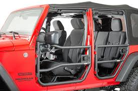 Rugged Ridge 26 Front and Rear Tube Doors with Eclipse