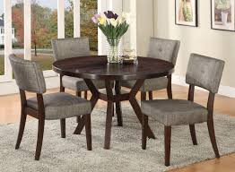Wood Round Dining Table And Chair — Chris Style From