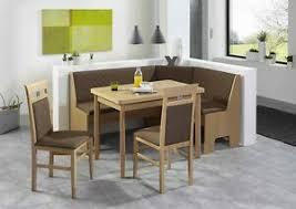 details zu eckbankgruppe malmö 4 teilig vierfußtisch universal essgruppe tisch stühle set