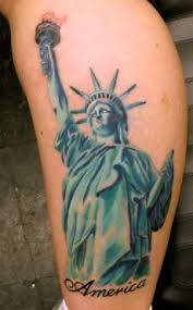 Is Statue Liberty Tattoo Only For Patriotic Citizens