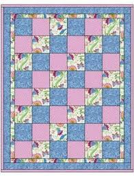 SEW QUICK 3 YD QUILT PATTERN Finished size of quilt 48 x 58 inches