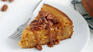 Cake Mix And Pumpkin by Gooey Pumpkin Butter Cake With Pecans Recipe Tablespoon Com
