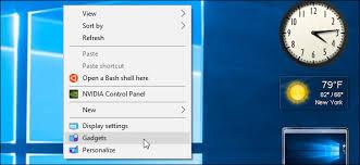gadget de bureau windows 8 comment ajouter gadgets retour à windows 8 et 10 et pourquoi vous