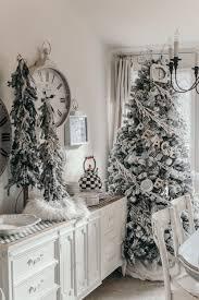Grandin Road White Christmas Tree by Holiday Home Tour Christmas Decor Ideas U2014 House Of Five