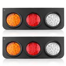2X Led Tail Lights Truck UTE Trailer Stop Indicator 12V Pair ... 2 Led 4 Round Truck Trailer Brake Stop Turn Tail Lights With Red 2007 Ford F150 Upgrades Euro Headlights And Truckin 6 Oval 10 Diode Light Wgrommet Plugpigtail Amazoncom Toyota Pick Up 41988 Lens Lenses Signal Tailgate 196772 Gm Billet Digitails Close Of Tail Lights On A Fire Truck Stock Photo 3956538 Alamy New 2x Led Indicator 24v Waterproof Spyder 042012 Chevy Colorado Hilux Pickup 4x2 4x4 89 95 Clear Red 42008 Recon Smoked 264178bk W Builtin Flange 512
