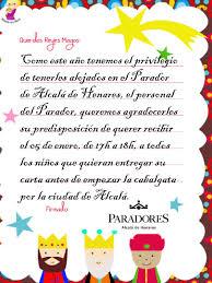 Carta De Los Reyes Magos Para Imprimir Y Colorear CUMPLEAÑOS