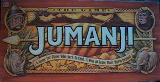 1995 Milton Bradley Board Game Jumanji