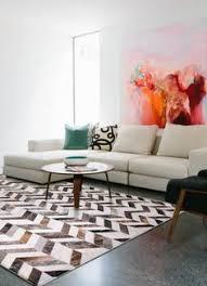100 individuelle fellteppiche ideen teppich kuhfell