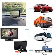 Universal Backup Camera System W/ LCD Monitor 4.3