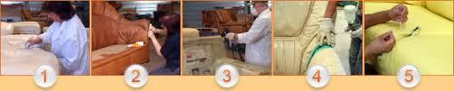 restaurer un canapé rénovation du cuir neocuir