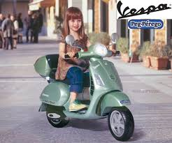 Peg Perego Vespa Ride On Bike