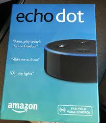 smart speakers echo dot 2nd generation media