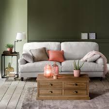 la redoute canapé canapé fixe coton 3 ou 4 places noon la redoute interieurs canapé