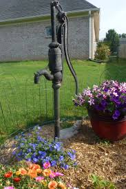 Best 25+ Old Water Pumps Ideas On Pinterest | Water Pump For House ... Outdoor Fountains At Lowes Pictures With Charming Backyard Expert Water Gardening Pond Pump Filter Solutions For Clear Backyards Mesmerizing For Water Fountain Garden Pumps Total Pond 70 Gph Pumpmd11060 The Home Depot Large Yard Outside Fountain Have Also Turned An Antique Into A Diy Bubble Feature Ceramic Sphere Pot Sunnydaze Solar Pump And Panel Kit 80 Head Medium Oput 1224v 360 Myers Well Youtube