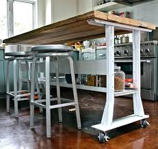 Kitchen Island On Casters Home Designs Idea Throughout Decor 16