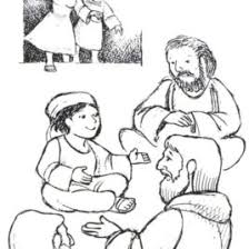 1000 Images About Jesus As Child Termple On Pinterest Coloring Page Boy In The Temple