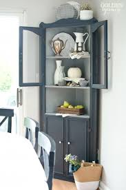 Pic Corner Cabinet Of Hutch Dining Room Shellecaldwell That Amazing
