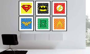 Decorating A Justice League Bedroom
