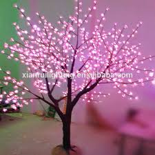 beautiful led light wall decor metal tree view wall decor metal