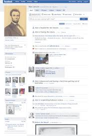 Abe Lincoln Facebook Twitter And Teaching History