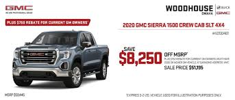 100 Used Gm Trucks New 2020 GMC Sierra 1500 Double Cab Standard Box 4Wheel Drive Elevation