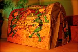 Ninja Turtle Bed Tent by The Sewer Den Issue 38 Cowabunga Camping