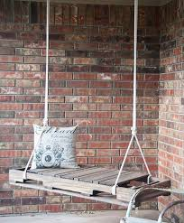 Simple And Easy DIY Pallet Swing Idea Tremendous For Kids