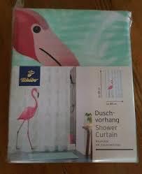 tcm tchibo flamingo badezimmer vorhang duschvorhang pink