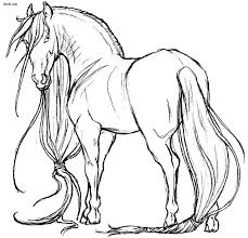 Coloring Book Pages Project Awesome Horses