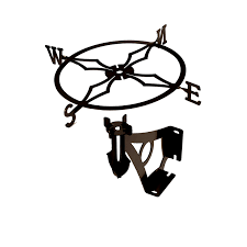 Weathervanes For Sheds Uk by W128blk Witch Flying Weathervane Amazon Co Uk Kitchen U0026 Home