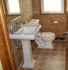 Paint Color For Bathroom With Beige Tile by Bathroom Tile Ideas Brown Interior Design