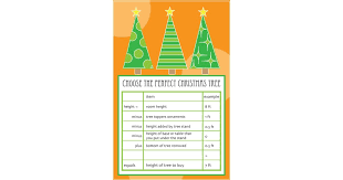 Christmas Tree Height Guide