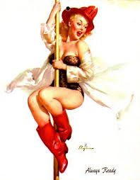 dessin pin up moderne pin up