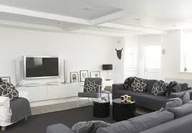 100 Contemporary House Decorating Ideas Living Rooms Modern Family Room White Full