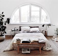Like The Idea Of Just Simple Short Tables And No Headboard BUT A Bench As Footboard This Bed Probably Has Frame Though It Seems Bit Higher Off