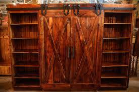 Decoration Rustic Barn Cabinet Doors With Door Entertainment Centers